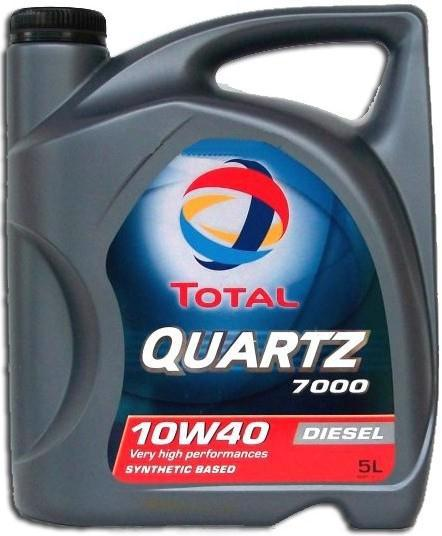 Масло моторне TOTAL Quartz Diesel 7000 10w40 5л