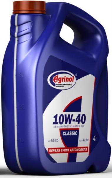 Масло моторне AGRINOL 10W40 SG/CD 4л