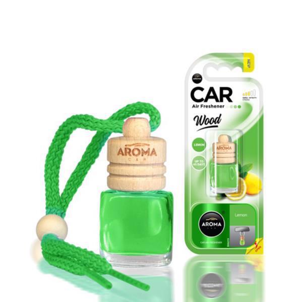 Ароматизатор AROMA CAR Wood лимон 6мл 631081