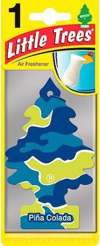 Ароматизатор LITTLE TREES Піна колада 5г