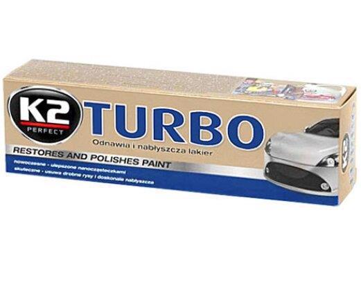 Паста д/полірування кузова K2 Tempo Turbo воскова 120г