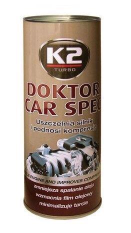 Присадка д/масла K2 Doktor Car Spec 443г