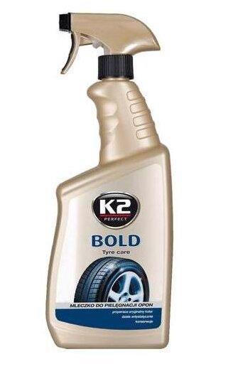Засіб д/догляду за шинами K2 Bold 700мл /тригер/