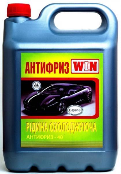 Антифриз WIN -40 синій 10л