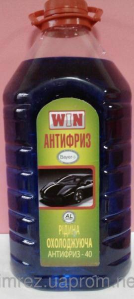 Антифриз WIN -40 синій 5л