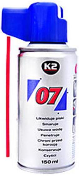 Мастило K2 007 Універсальна 150мл /аерозоль/