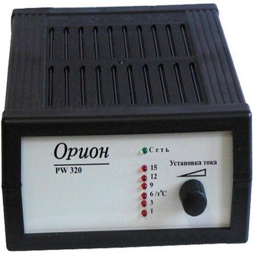Пристрій заряд. д/аккум. авто ОРИОН PW320, 12В, 0.8-20А імпульсний