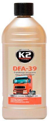 Антигель д/диз. топлива K2 Turbo DFA-39 500мл