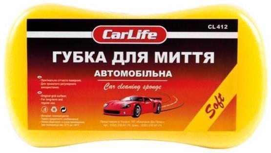 Губка д/авто CARLIFE Soft 220*120*60мм CL412