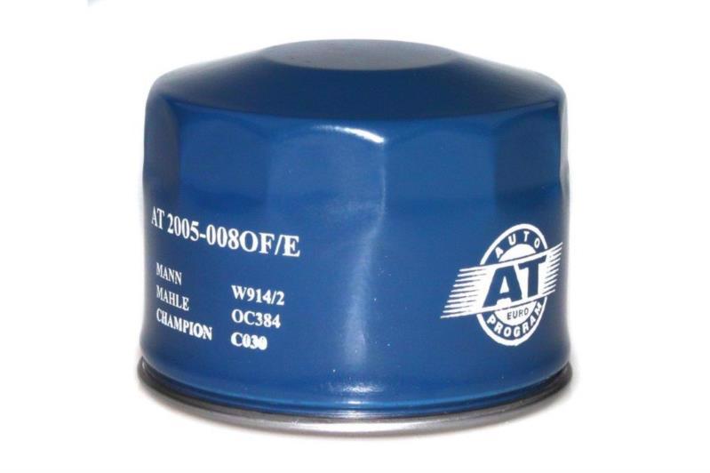 Фільтр д/авто масляний AT Ваз-2108-2199,2110-2112,калина 2005-008of-e