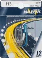 Автолампа NARWA галоген. H3 12V 55W PK22S NV 48321.1B