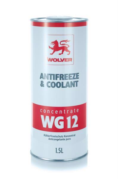 Антифриз WOLVER WG12 концентрат (червоний) 1.5л