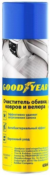 Очіщувач салону GOODYEAR 650мл gy000711 /аерозоль/