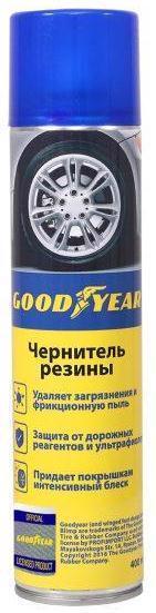 Засіб д/догляду за шинами GOODYEAR 400мл gy000700 /аерозоль/