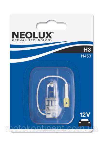 Автолампа NEOLUX галоген. H3 12V 55W PK22S ne n453-01b