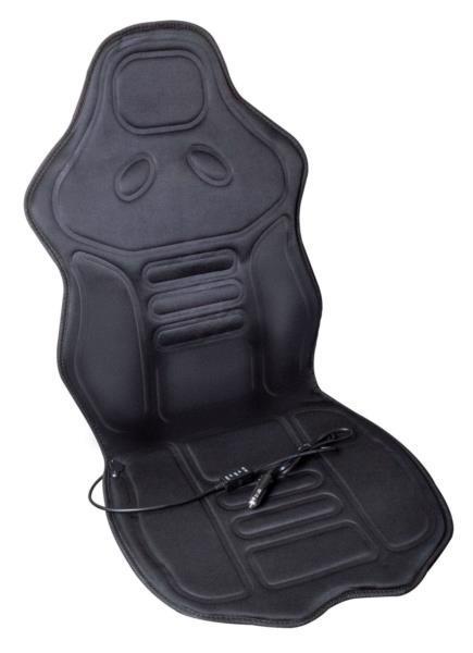 Накидка на сидіння авто LAVITA з підігрівом la 140402bk