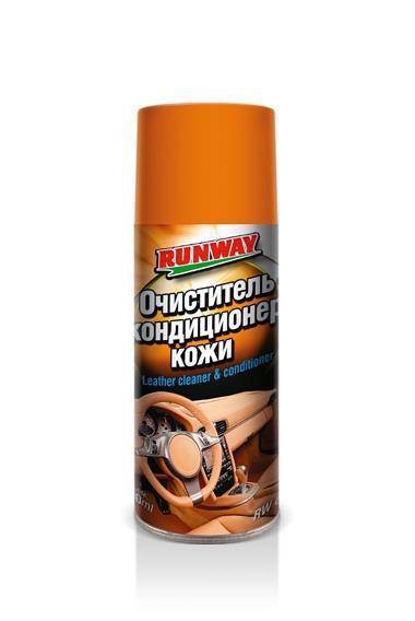 Очищувач-кондиц. д/шкіри салону RUNWAY 400мл RW6124 /аерозоль/