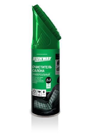 Очищувач салону RUNWAY Універсал 450мл RW6145 /аерозоль/