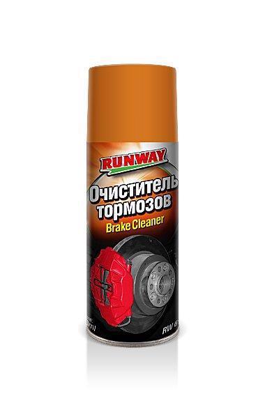 Очищувач гальм RUNWAY 500мл RW6121 /аерозоль/