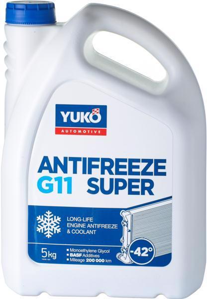 Антифриз YUKO -40(42) синій 5.0кг