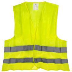 Жилет безпеки світловідбиваючий ЖБ003 XL жовтий