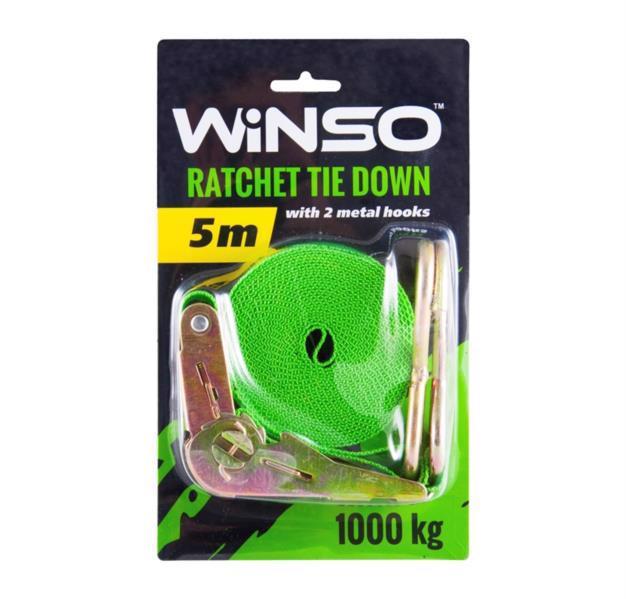 Ремінь стяжний WINSO з замком 1т 5м 141500