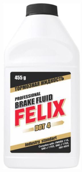 Рідина гальмівна FELIX DOT-4 0.5л (0.455кг)