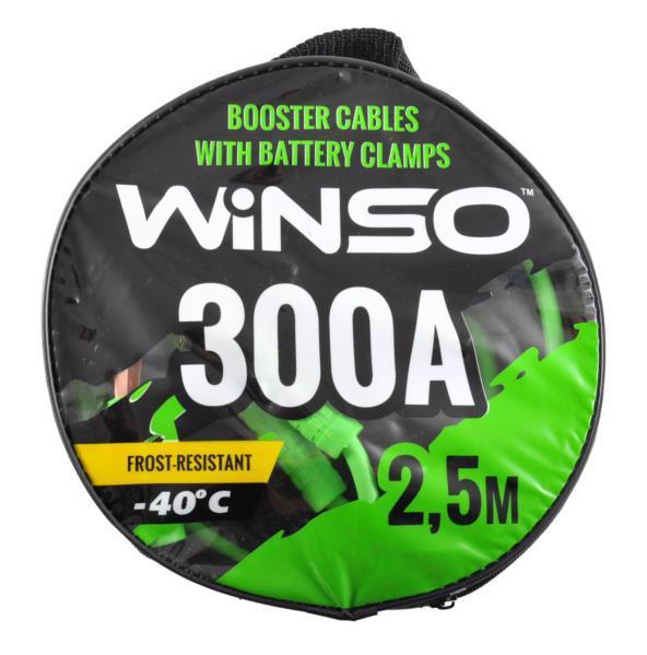 Кабель пусковий д/авто WINSO 300A 2.5м 138310
