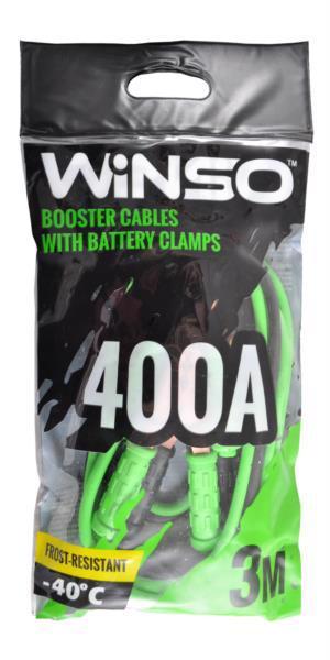 Кабель пусковий д/авто WINSO 400A 3.0м 138420