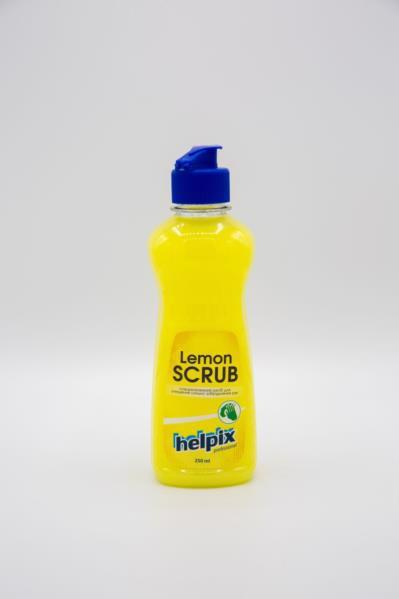 Очищувач д/рук HELPIX Lemon Scrub 250мл /дозатор/