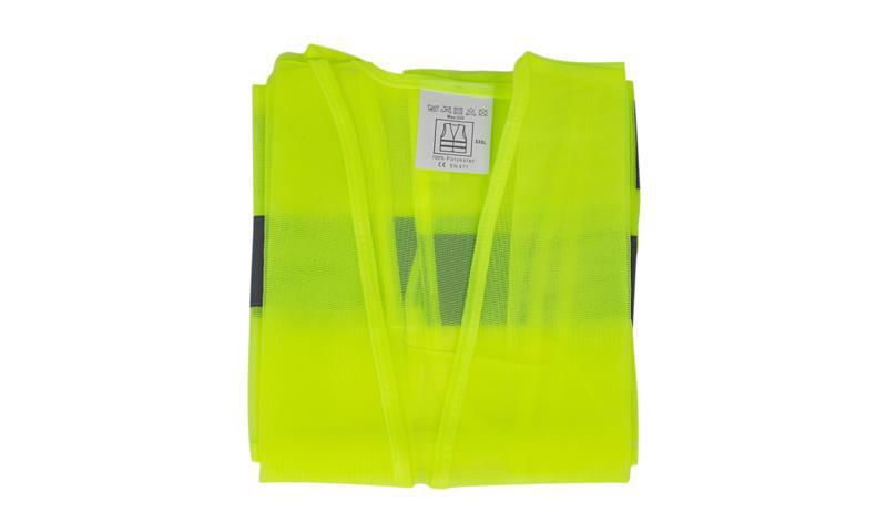 Жилет безпеки світловідбиваючий XXXL жовтий IMP DM084-1