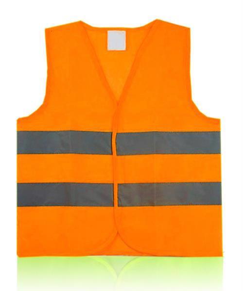 Жилет безпеки світловідбиваючий XXXL помаранч. IMP DM084