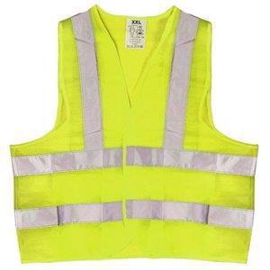 Жилет безпеки світловідбиваючий VITOL XXL жовтий
