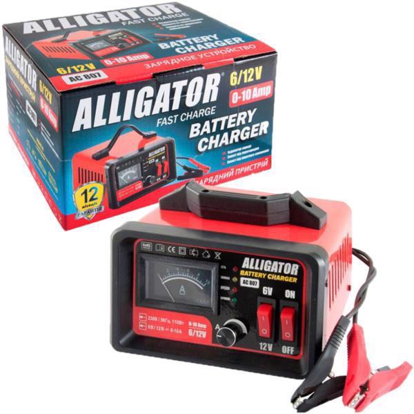 Пристрій заряд. д/аккум. авто ALLIGATOR 6/12В 10А AC807