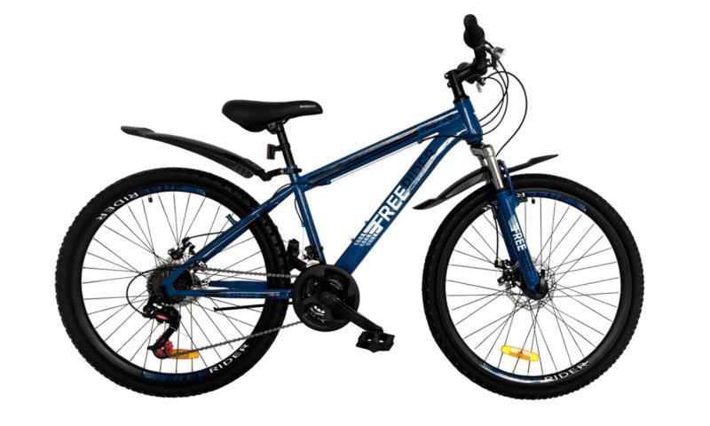 "Велосипед гір. 26"" FREERIDER Fast DD син.-чор. 9106"