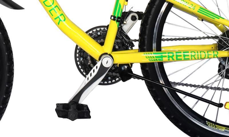 """Велосипед гір. 24"""" FREERIDER Snow жовт.-зел. 9113"""