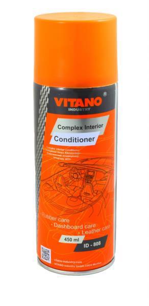 Засіб д/догляду за шкірою і пластиком VITANO 450мл ID-808 /аерозоль/