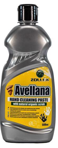 Очищувач д/рук ZOLLEX Avellana з натур. скрабом 500мл PN-050