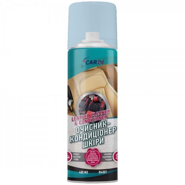 Очищувач-кондиц. д/шкіри салону CARBI 400мл BI4001 /аерозоль/