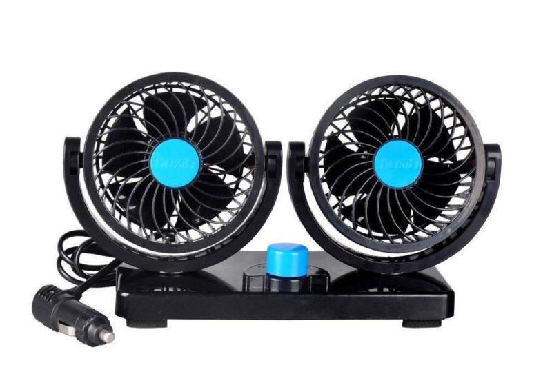 """Вентилятор в салон авто VITOL 5 """"12В подвійний/2скорості HX-U901"""