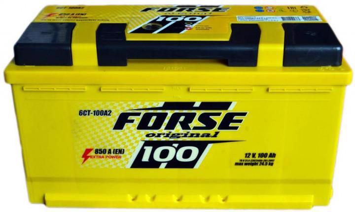 Акумулятор д/авто FORSE Original 6СТ-100 A2 100A Євро прав.+