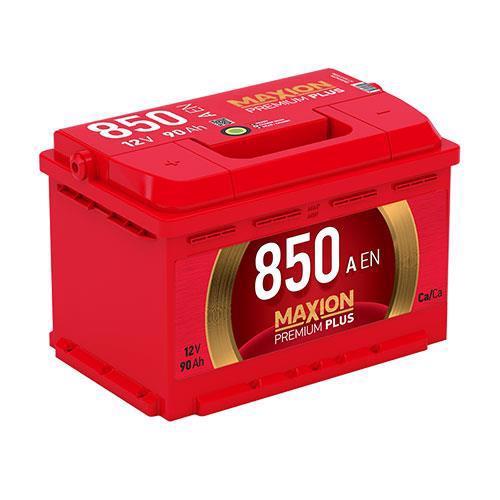 Акумулятор д/авто MAXION Premium Plus 6СТ-90 A2 90A Євро прав.+