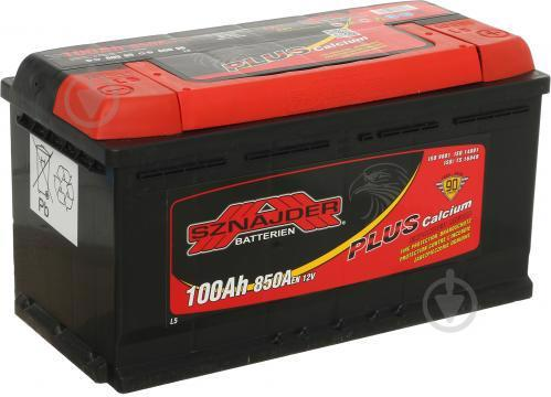 Акумулятор д/авто SZNAJDER Plus 6СТ-100 100A Євро прав.+