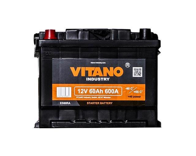 Акумулятор д/авто VITANO VB60 12v 60A лів.+