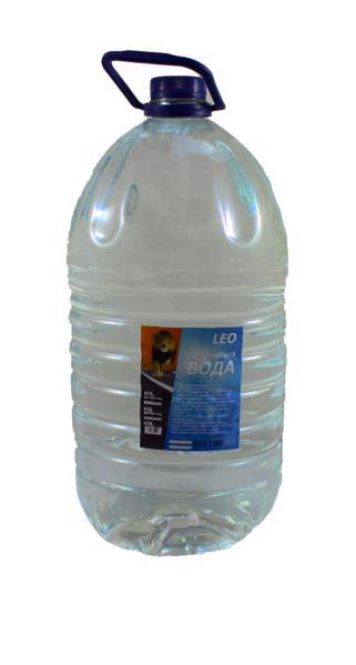 Вода дистильована LEO 5л
