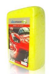 Губка д/авто HIGHFOAM Mister car wash 19*12*7см