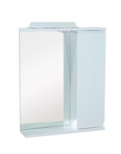 Дзеркало ХАСТ Ронда 70+шкаф біла (права)