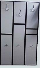 Вішалка настінна Єлисей 750*300*1250мм венге/сір. Ж