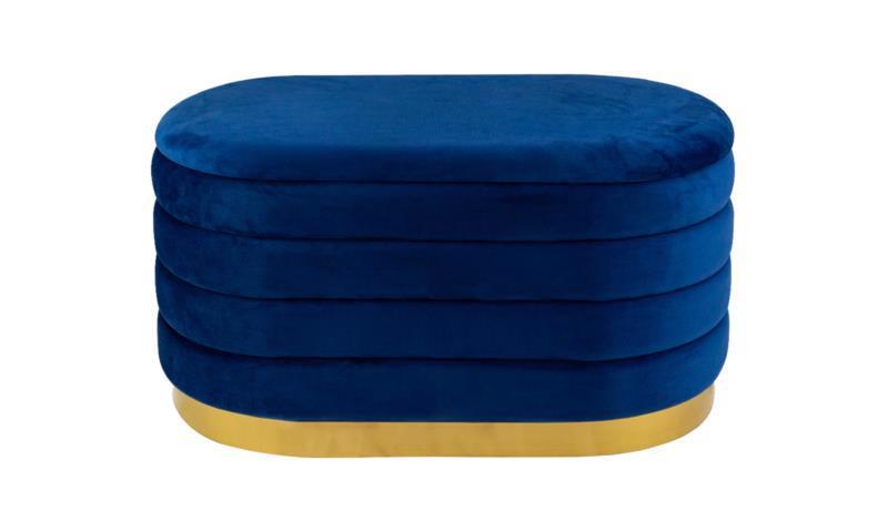 Банкетка 800*420*420мм синій IMP