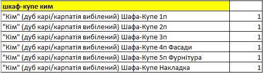 Шафа-купе MS Ким 2205*626*1848мм дуб карі/карпатія